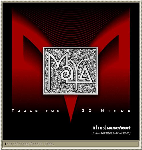 Загрузочный экран Maya 1.0
