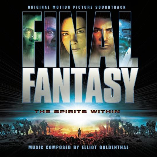 Обложка OST к фильму Final Fantasy: The Spirits Within