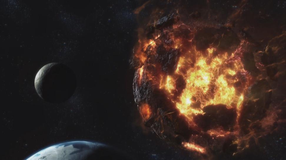 Падение Метеора