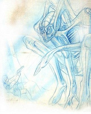 Ранний концепт-арт фантомов