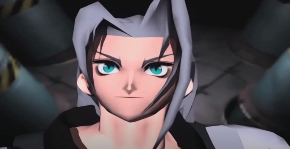 Кадр из CGI кат-сцены в Final Fantasy VII