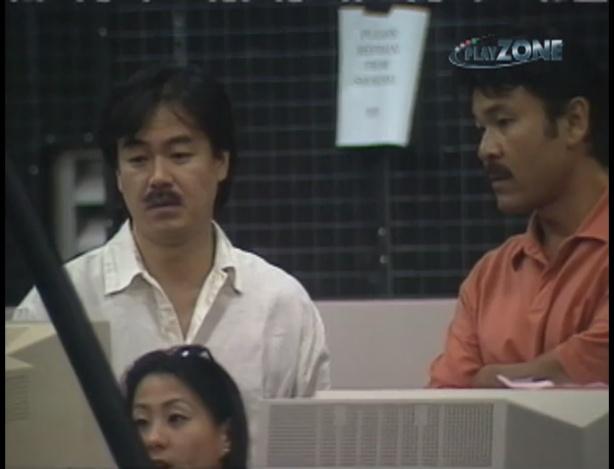 Хиронобу Сакагучи за работой