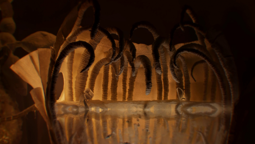 Позавету тай самой «Неверь вхудо», всё сделано из… непластелина— бумаги.