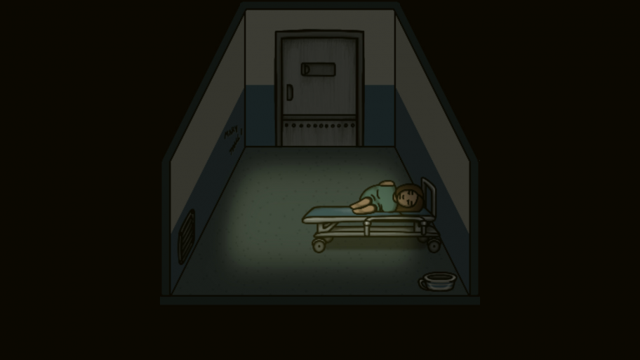 Где, как невбольнице ощущаешь себя беспомощным иодиноким?