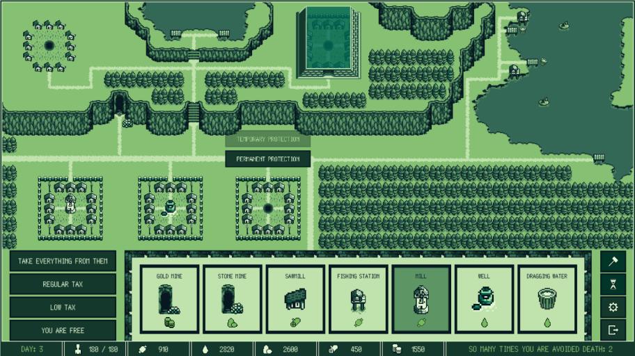 Наэтой картинке изображён почти весь геймплей сего творения.