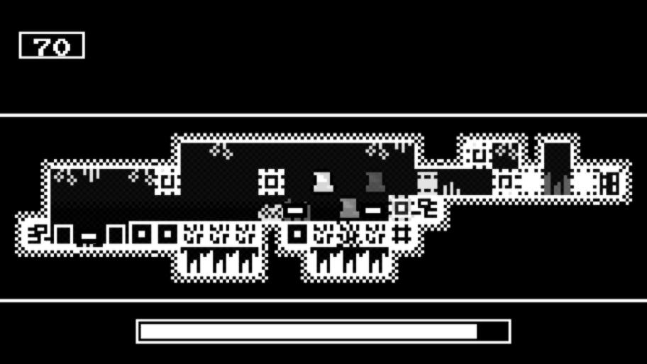 Для демонстрации этой игры достаточно одного скрин-шота уровня №70.