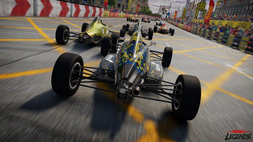 Анонсирована GRID Legends — гоночный симулятор с упором на сюжет