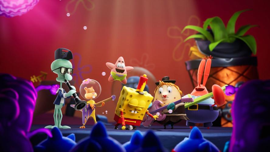Анонсирована SpongeBob SquarePants: The Cosmic Shake, в которой Губка Боб бороздит мультивселенную