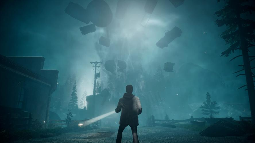 Первые скриншоты Alan Wake Remastered