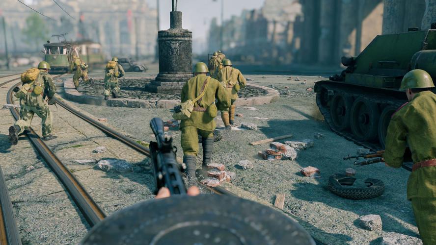 Новенькое в Enlisted: кампания «Битва за Берлин», хардкорный режим и другое