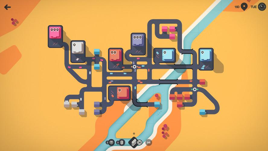 Сиквел Mini Metro про машинки перебрался на PC