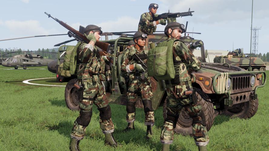 Действие нового DLC к Arma III развернётся на границе Чехословакии во время холодной войны