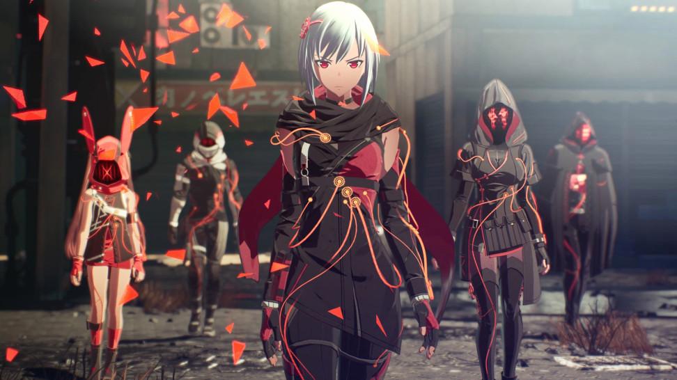 Мир, монстры и персонажи в свежем трейлере Scarlet Nexus