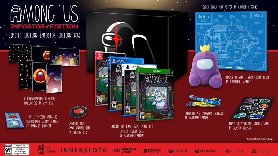 Авторы Among Us готовят коллекционные издания для консолей со значками и плюшевыми игрушками