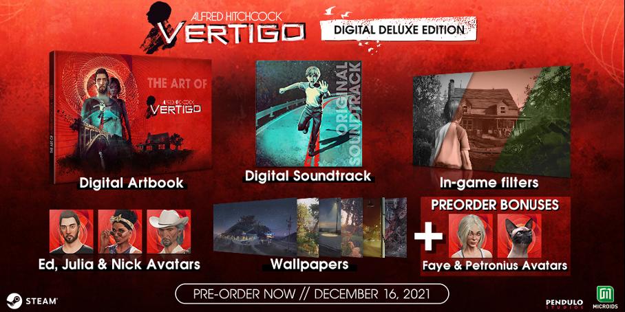 Консольные версии триллера Alfred Hitchcock — Vertigo задержатся до 2022 года