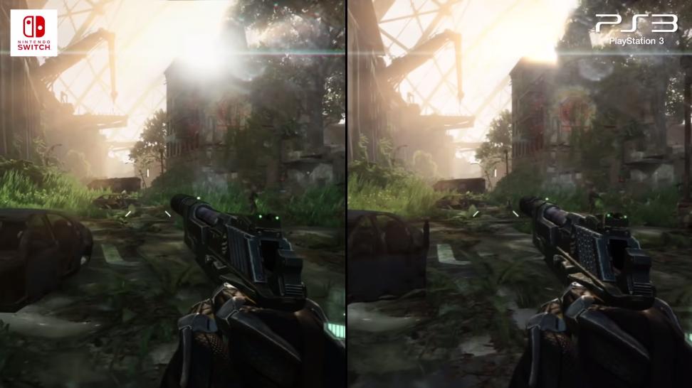 Digital Foundry: Switch смогла обуздать ремастер Crysis 3