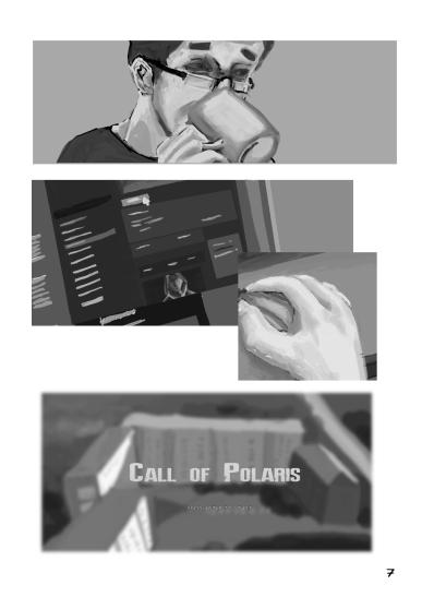 Комикс по мотивам «Теней над Бийском»