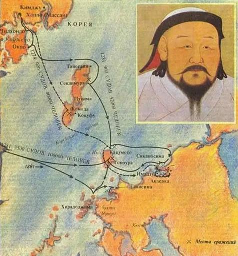 На картинке Хубилай - внучек Чингисхана