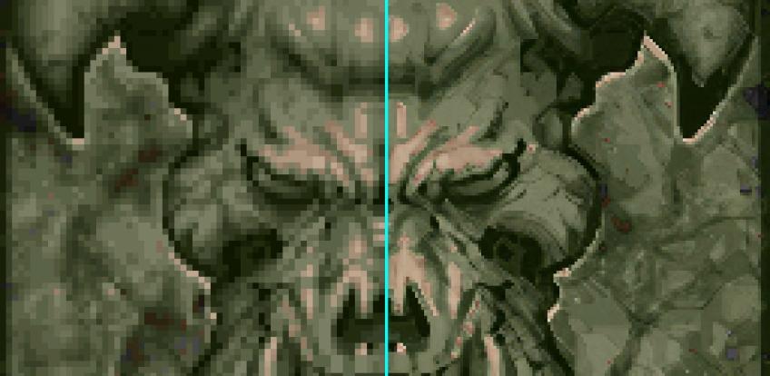 <i>                         Улучшение текстур оригинального DOOM при помощи нейросетей</i>