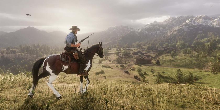 Игра Red Dead Redemption 2, которую разрабатывали 7 лет, и на пике 3000 сотрудников