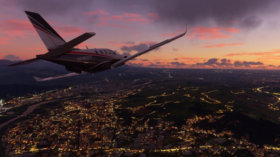 <i>                                                Игра Microsoft Flight Simulator</i>