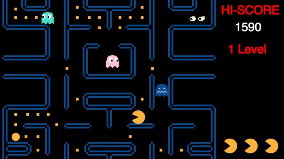 <i>               Одна из вариаций игры Pacman</i>