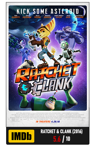 <b>Ratchet and Clank - The Movie (2016)</b>
