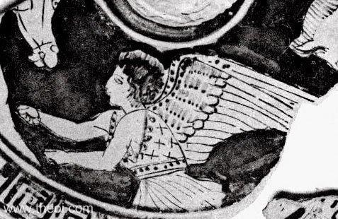 Одно изизображений богини.