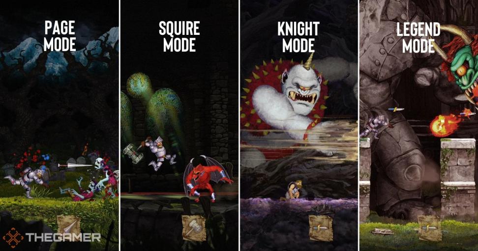 ВGhosts nGoblins Resurrection наNintendo Switch канонична последняя сложность— Легенда. Она все также максимально нечестна кигроку, как иеепредшественник 36 лет назад