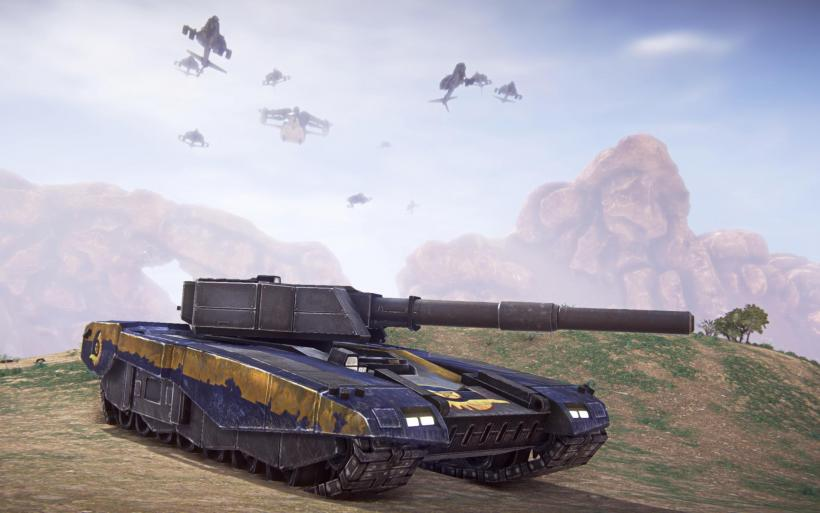 Танк НК(Vanguard)