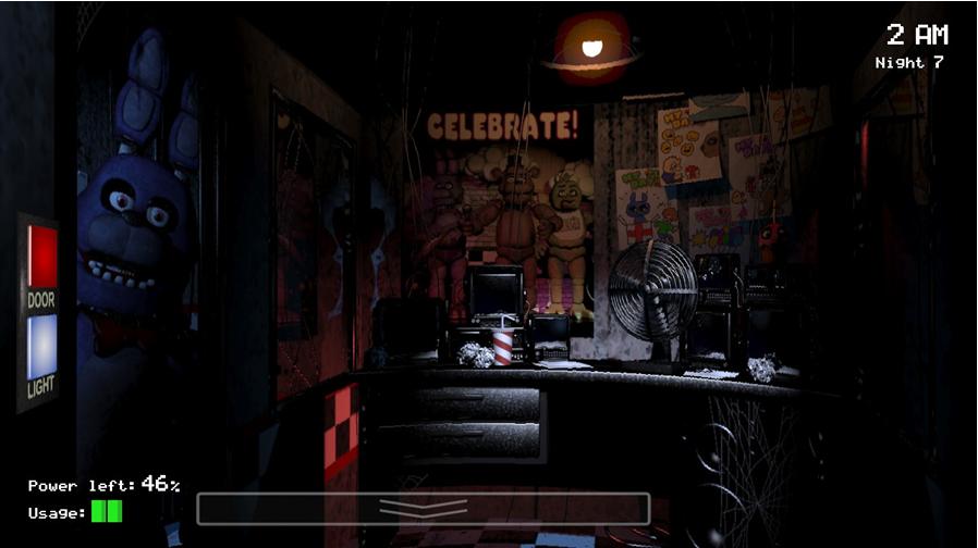 История серии Five nights at Freddy's. Часть 1. Five nights at Freddy's