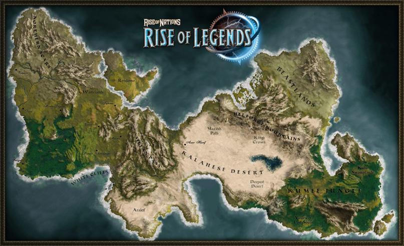 Rise of Legends — стильно, модно, фэнтезийно!