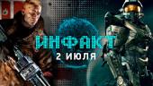 «Инфакт» от 02.07.2018 — Консоль Yeti от Google, экранизация Halo, сломанная The Crew 2 для PS4, Overwatch, Wolfenstein II…