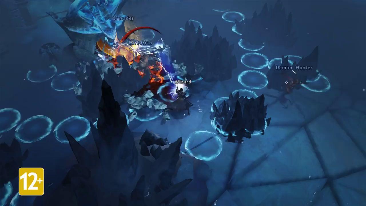 Diablo Immortal: BlizzCon 2018. Геймплей