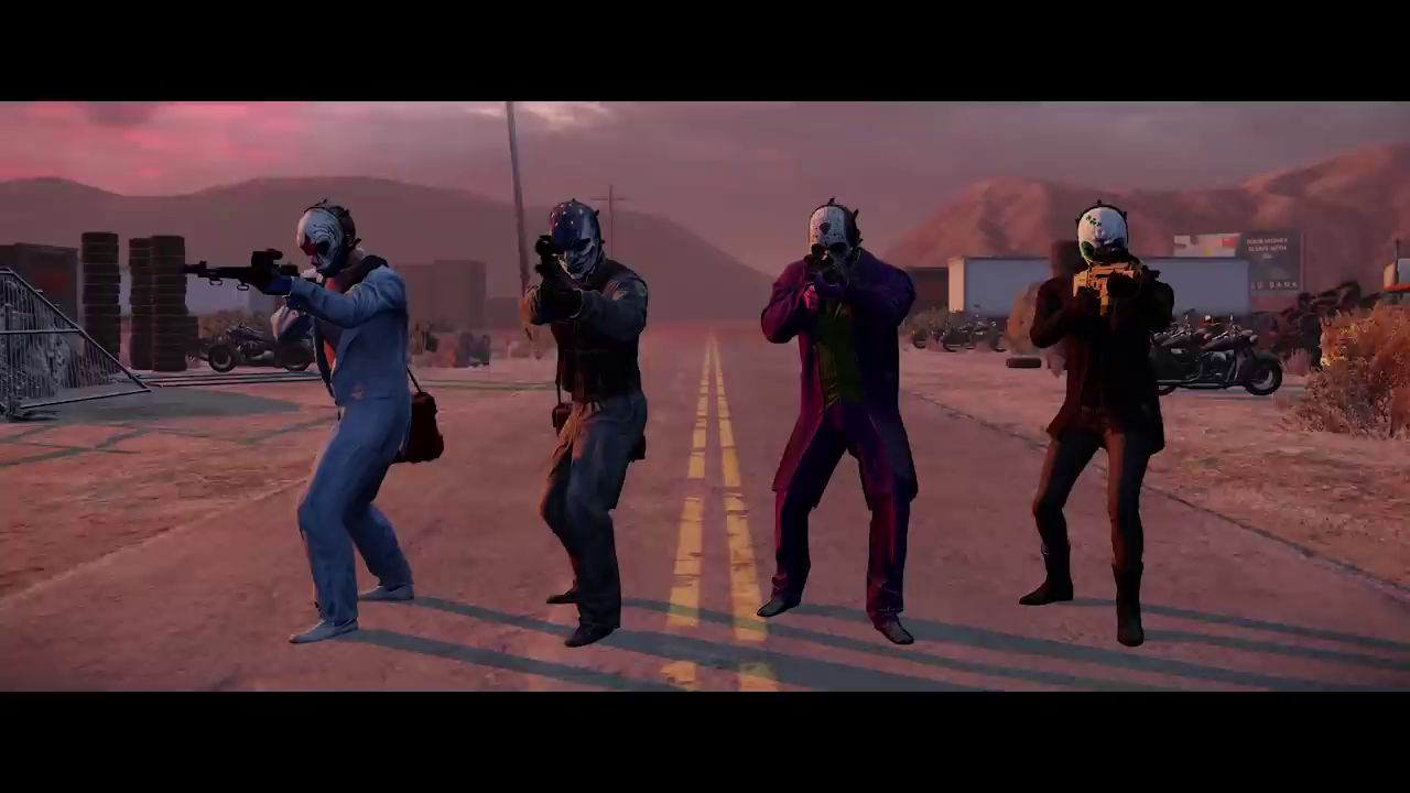 PayDay 2: Трейлер Border Crossing Heist