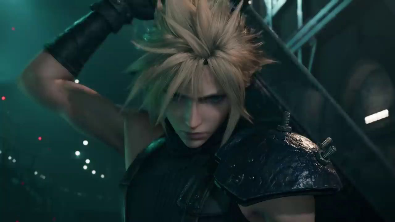 Final Fantasy VII Remake: The Game Awards 2019. Трейлер Клауда