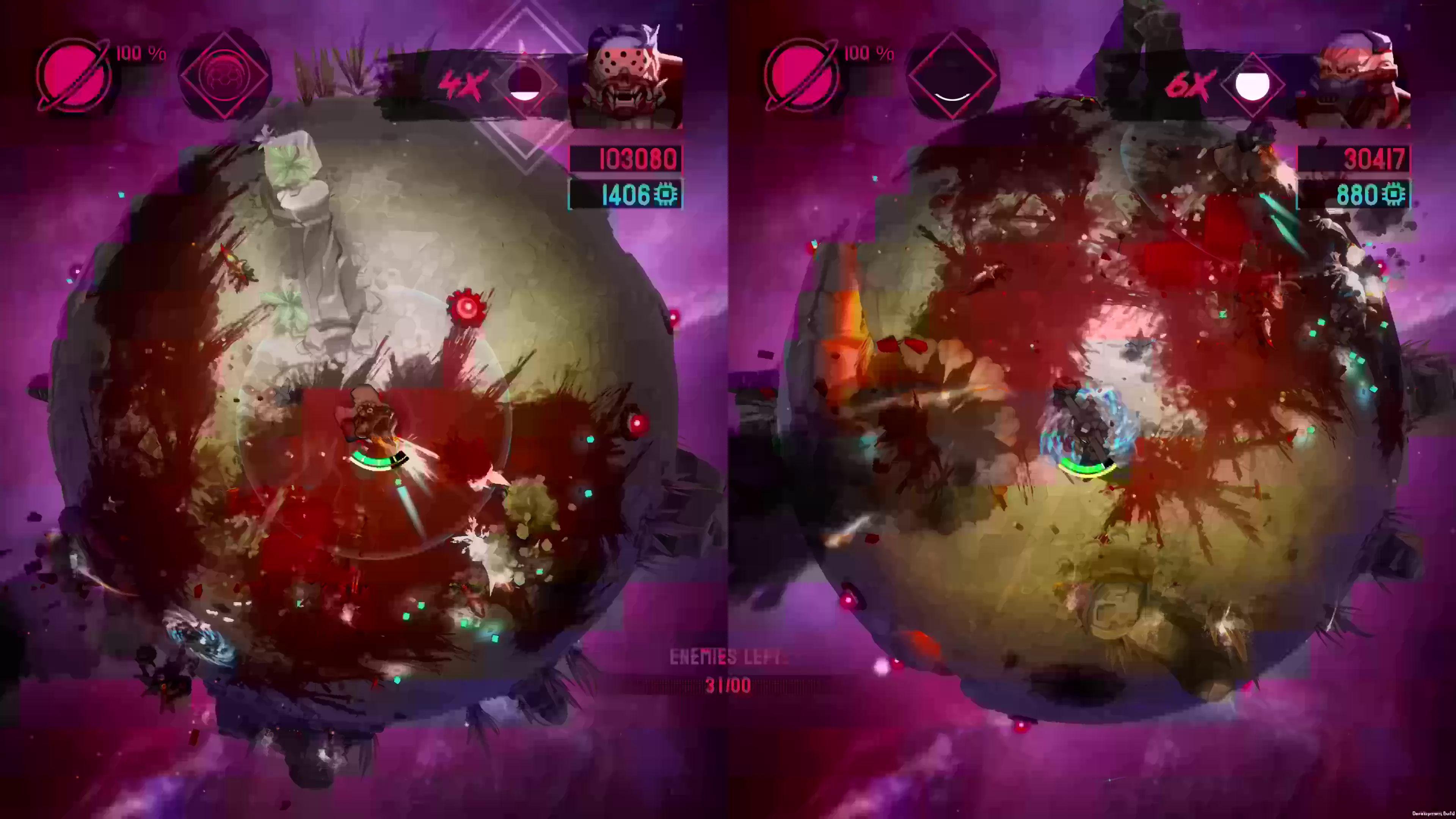 Battle Planet: Judgement Day: Геймплейный трейлер