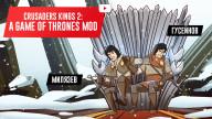Crusader Kings 2: A Game of Thrones Mod. Контурные карты близко!