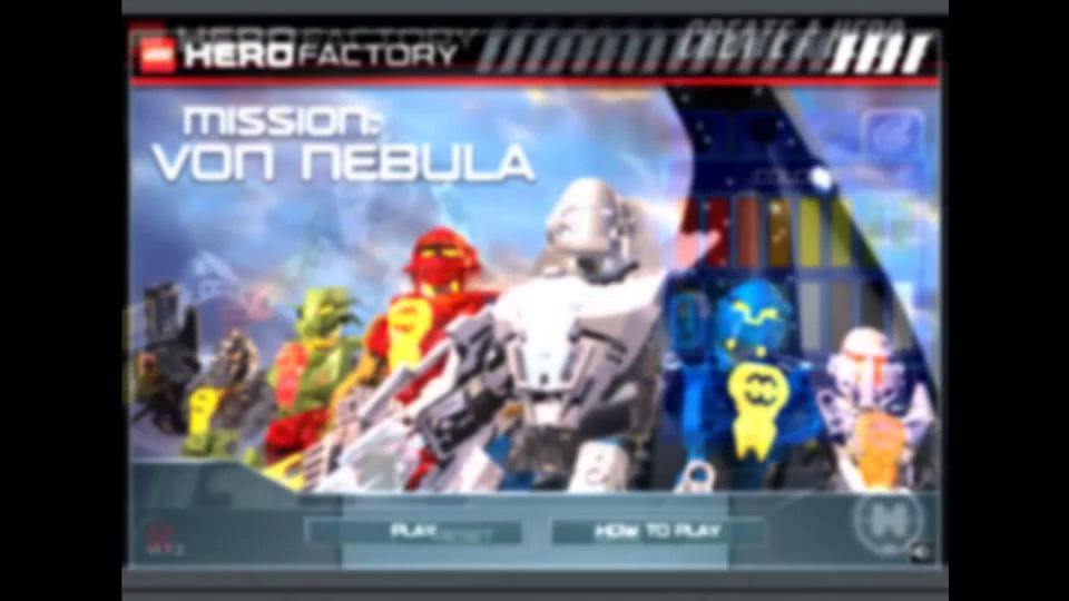 Lego Hero Factory Mission Von Nebula запуск