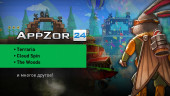 AppZor №24 — Terraria, Cloud Spin, The Woods, Свет HD, Puddle