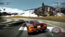 McLaren на снегу
