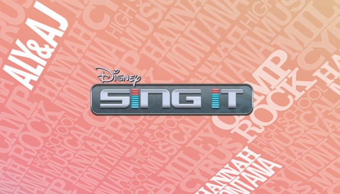 к игре Disney Sing It