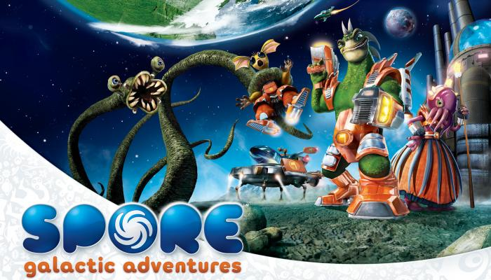 к игре Spore: Galactic Adventures