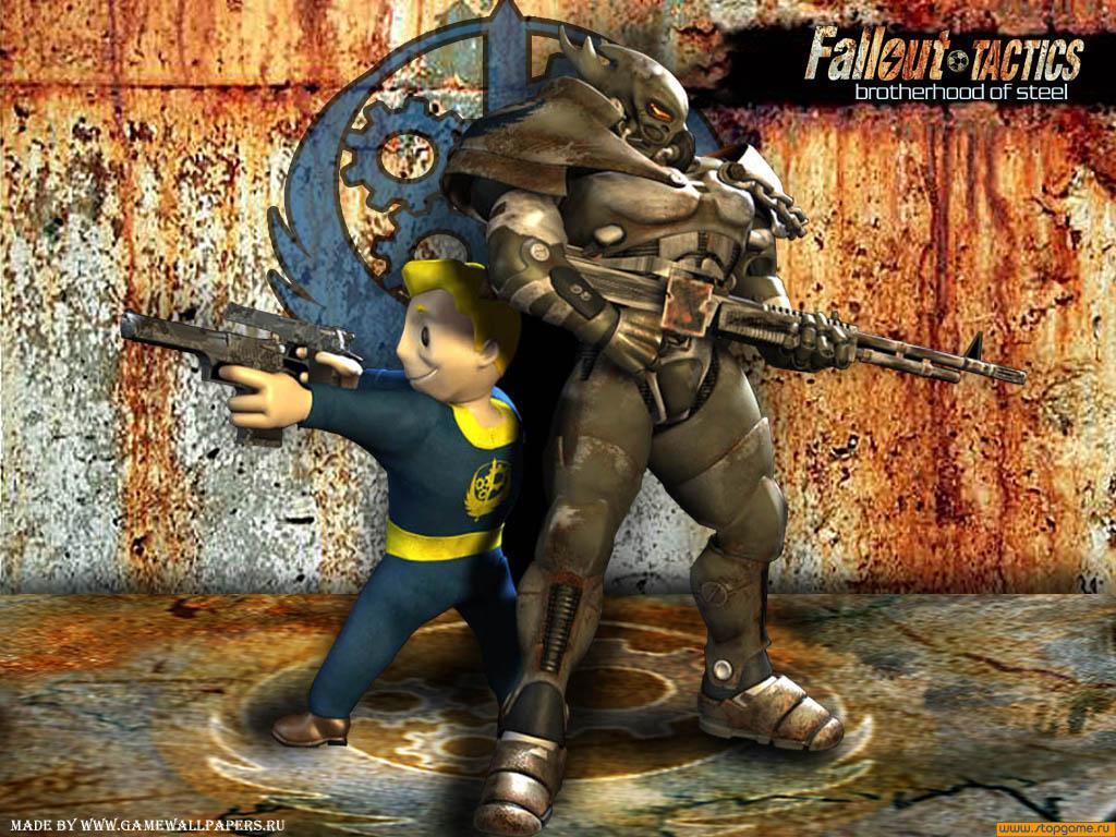 Fallout Tactics Wallpa...