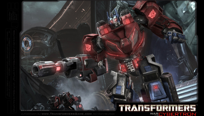 к игре Transformers: War for Cybertron