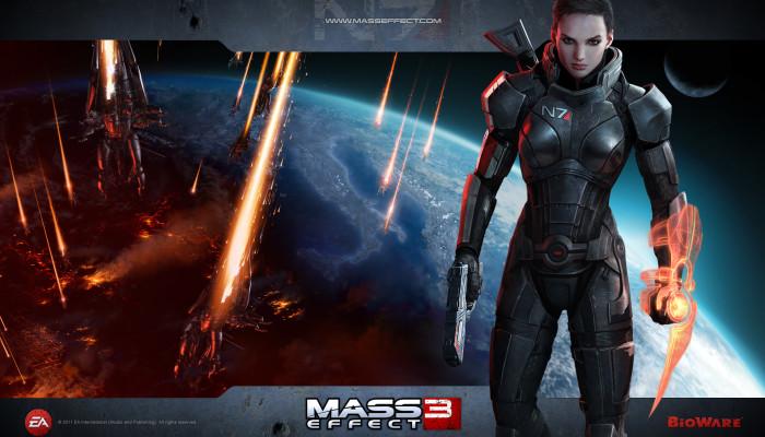 Обои по игре Mass Effect 3