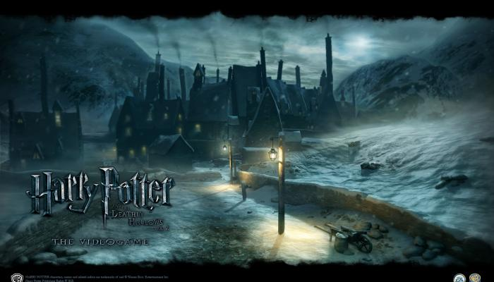Обои по игре Harry Potter and the Deathly Hallows: Part 2