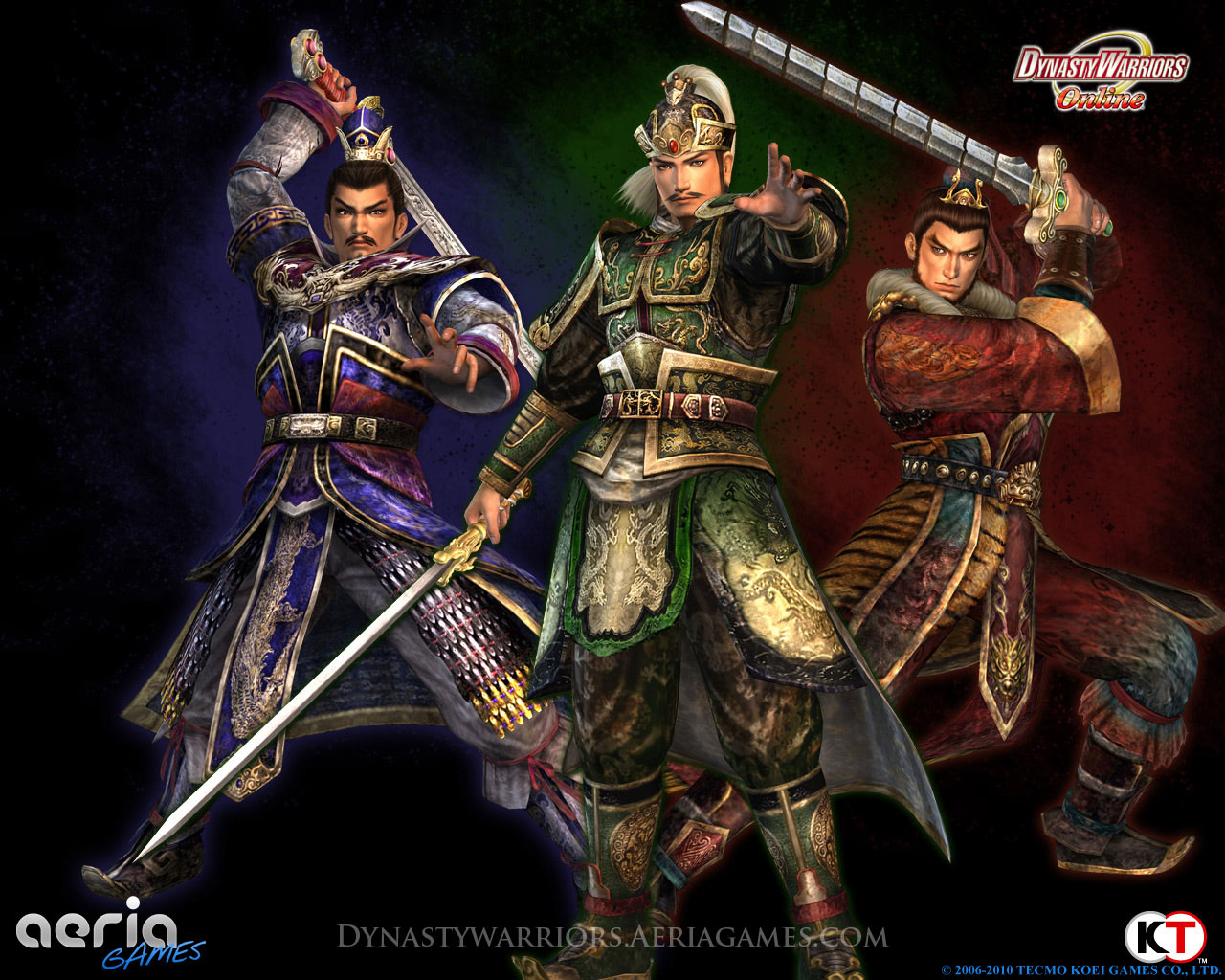 Dynasty Warriors: Online - the wallpaper on the game ...