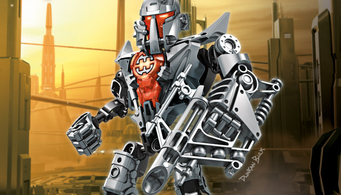 LEGO Hero Factory - Mission: Von Nebula: Обои