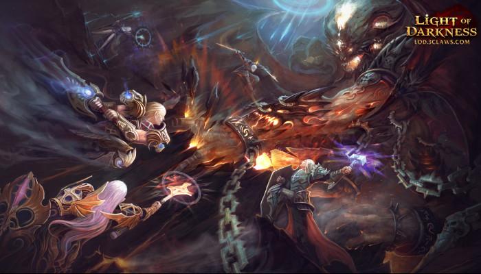 Обои по игре Light of Darkness